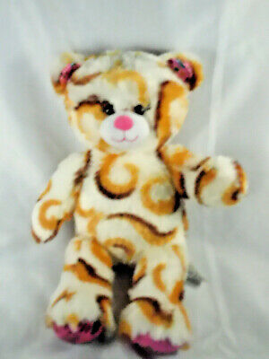 Smores Stuffed Animal, Build A Bear Girl Scouts Smores White Caramel Swirl S Mores Plush Bear Ebay