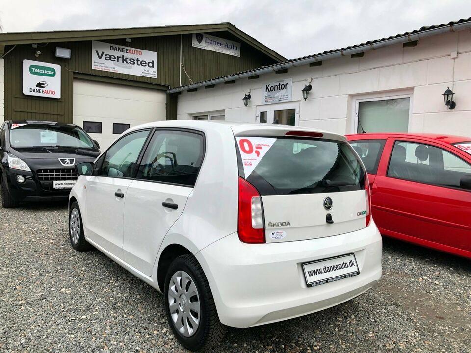 Skoda Citigo 1,0 60 Active GreenTec Benzin modelår 2013 km