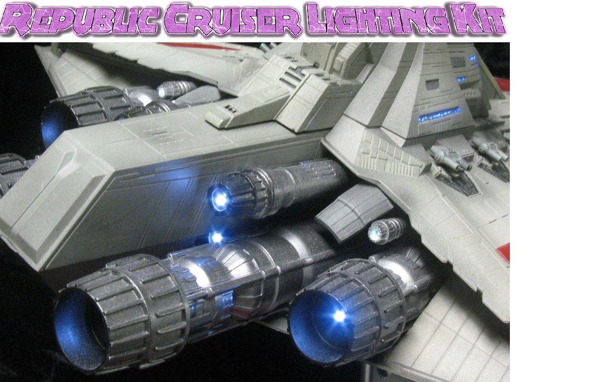 Lighting Kit for Revell Republic Cruiser 1 2700 scale - Star Destroyer
