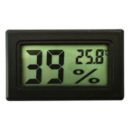 NEW Mini Digital LCD Indoor Temperatur Feuchtigkeit Meter Thermometer Hygrometer