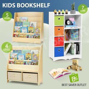 Kid Bookshelf Toy Storage Children Book Magazine Book Shelf