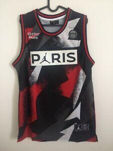 Detalles de Canotta nba jersey basket Paris Saint Germain Michael Jordan maglia New SMLXL