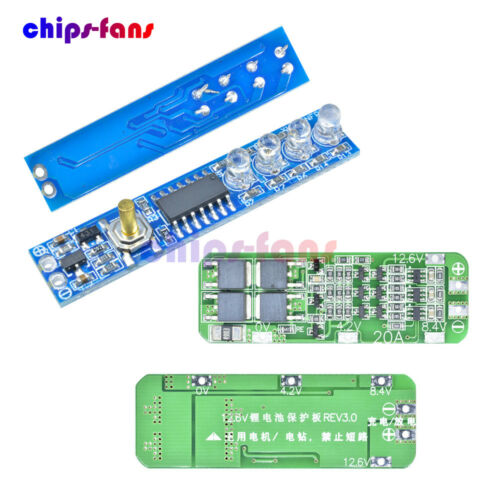 3S 20A 12.6V Li-ion Lithium Battery 18650 Charger PCB BMS Protection Board Cell