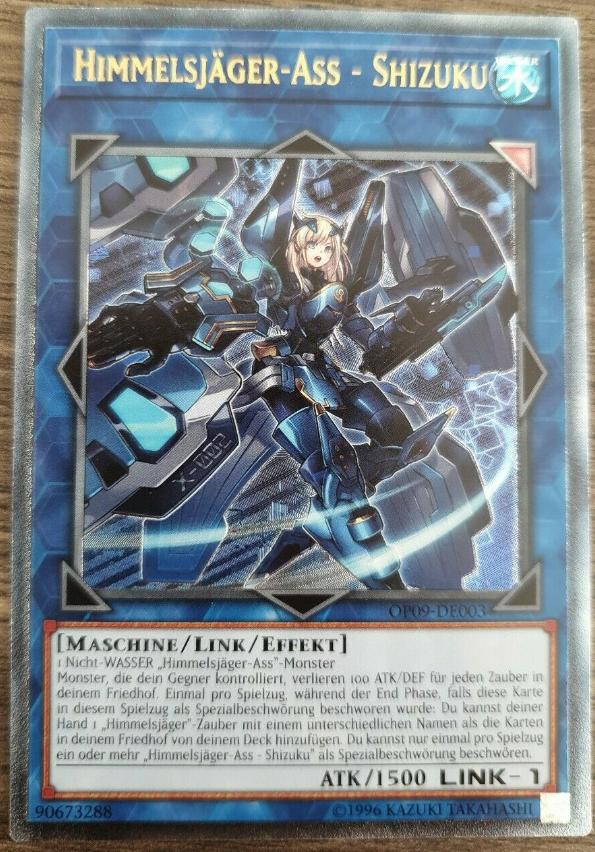 Hayate GER Yu-Gi-Oh Himmelsjäger-Ass Hayate OP10-DE002 UR NM Sky Striker Ace