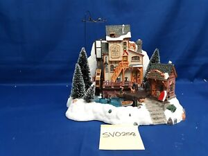 Lemax Village Collection Oak Creek Grist Mill #36321 As-Is SV0258