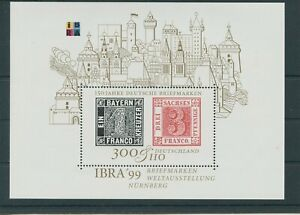 Germany-Federal-Frg-vintage-yearset-1999-Block-46-Mint-MNH-More-Sh-Shop