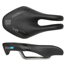 ISM PS1.1 Road Bike Ergo Saddle Black Flow Split Seat TTrial Triathlon New adamo