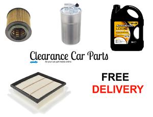 Vauxhall Corsa 1.3 CDTI Service Kit Oil Air Fuel Filter