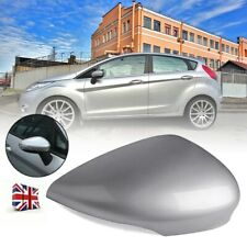 Silver Wing Door Mirror Cover Housing Cap Left Side For Ford Fiesta MK7 2008-17