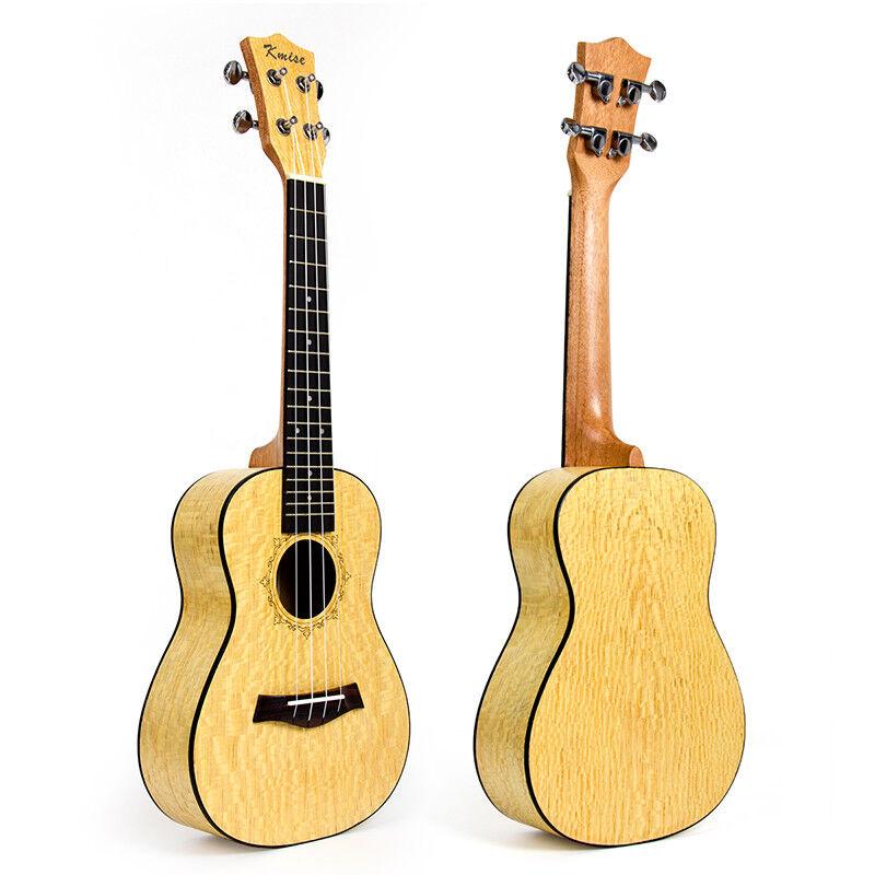 Kmise Professional 23 inch Concert Ukulele Ukelele Hawaii Guitar Pearl Wood Gift