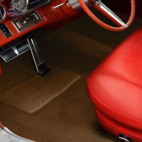 For GMC K1000 Pickup 66 Sewn-To-Contour Replacement Carpet Sewn-To-Contour