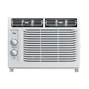 TCL-5-000-BTU-2-Speed-Window-Air-Conditioner-w-150-Sq-Ft-Coverage-White