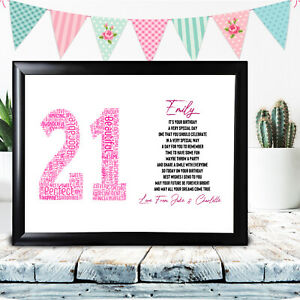 Personalised-21st-Birthday-Gift-Word-Art-For-Her-Daughter-Niece-Any-Number-Name