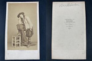 Constantin, Paris, Palmyre Wertheimber, alto Vintage cdv albumen print.Palmyre