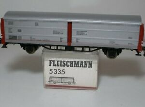 Fleischmann 5335 Sliding Wall Wagon Designed Hbis 299 DB Epoch 4 Used