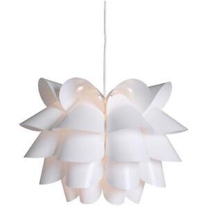 IKEA KNAPPA Hängeleuchte in weiß Deckenleuchte Deckenlampe Lampe NEU ...