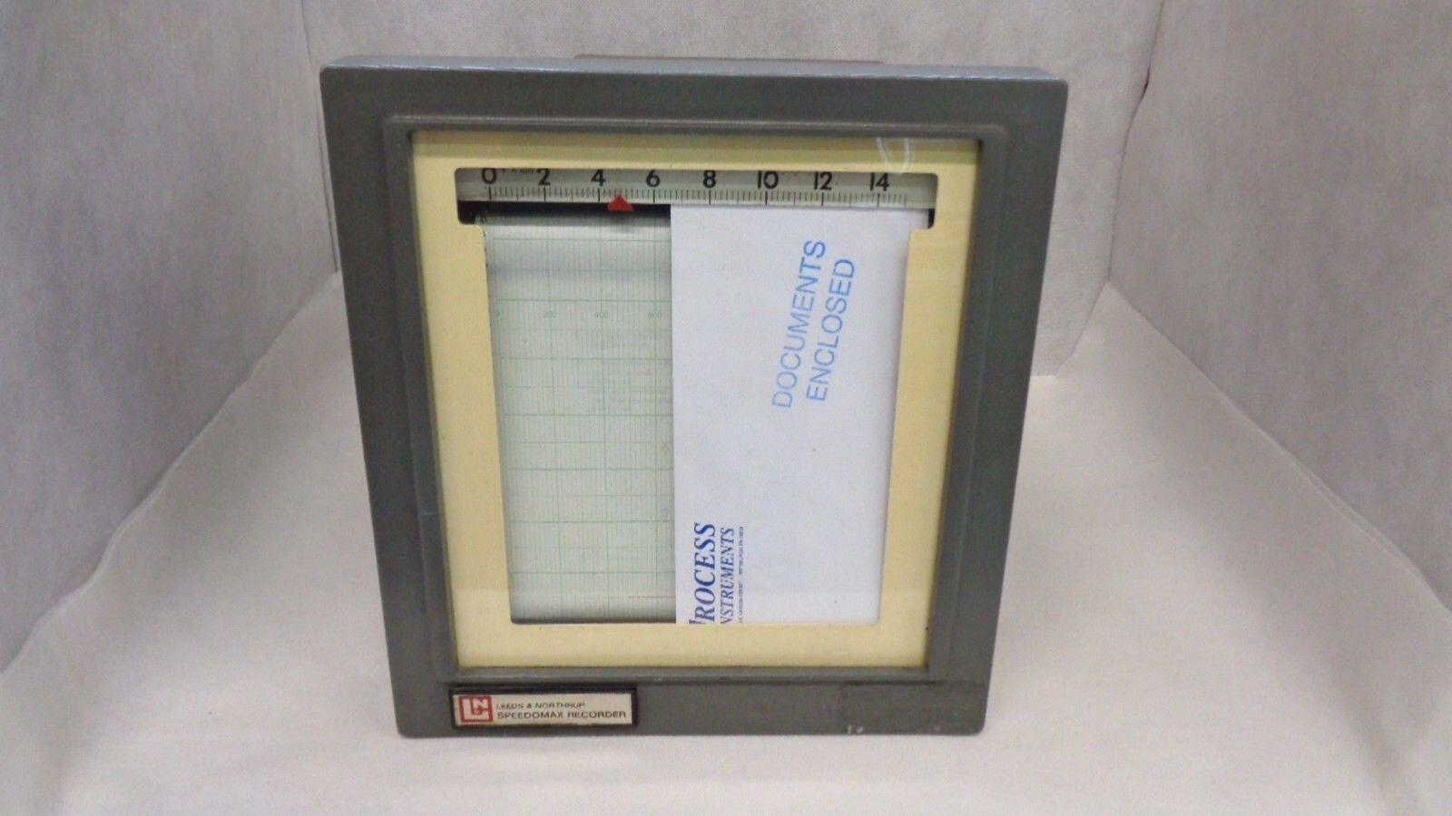 Leeds Northrup Speedomax Recorder 610002 Tc Type K Nzaeia1771