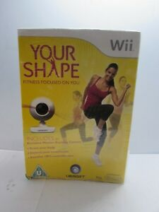 Your-Shape-with-Camera-for-PAL-Nintendo-Wii-New-Sealed