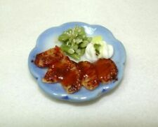 Dollhouse Mashed Potatoes and Gravy Fast Food Takeout Cup 1:12 Miniatures