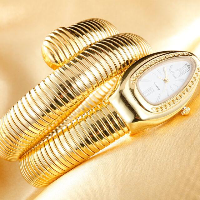 2016 Woman Snake Watches Fashion Bracelet Watches Creative Snake Quartz Watch