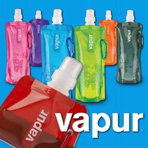 Fashion Flexible Collapsible Foldable Reusable Water Bottles Ice Bag 6 Color