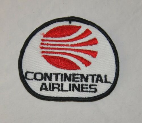 Vintage Continental Airlines Sew on Patch Vintage Airlines Patch Memorabilia