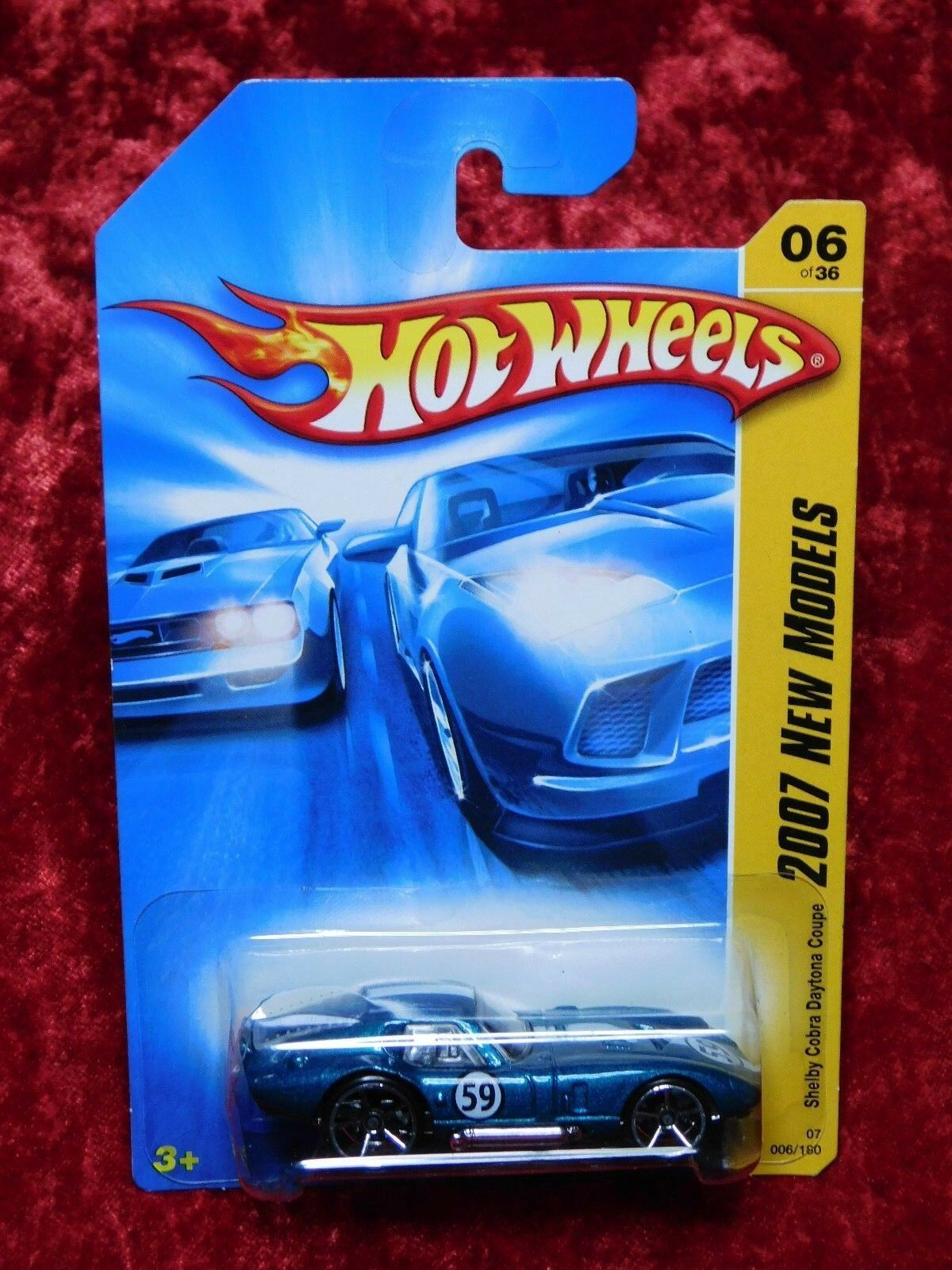 2005 07 Hot Hot Hot Wheels Classics Series 2 New Models Shelby Cobra Daytona Coupe 2 PK f59745