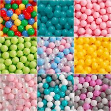 KiddyMoon New Kids Plastic Soft Play Balls ?6cm/2.36 inch for Children Ball Pits