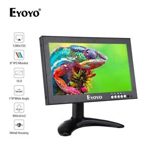 Eyoyo-8-034-IPS-16-9-Security-Monitor-HDMI-VGA-AV-BNC-input-per-Raspberry-Pi-Drone