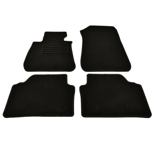 2005-2012 Velours Fußmatten passend für BMW 3er E90 E91 ab Bj