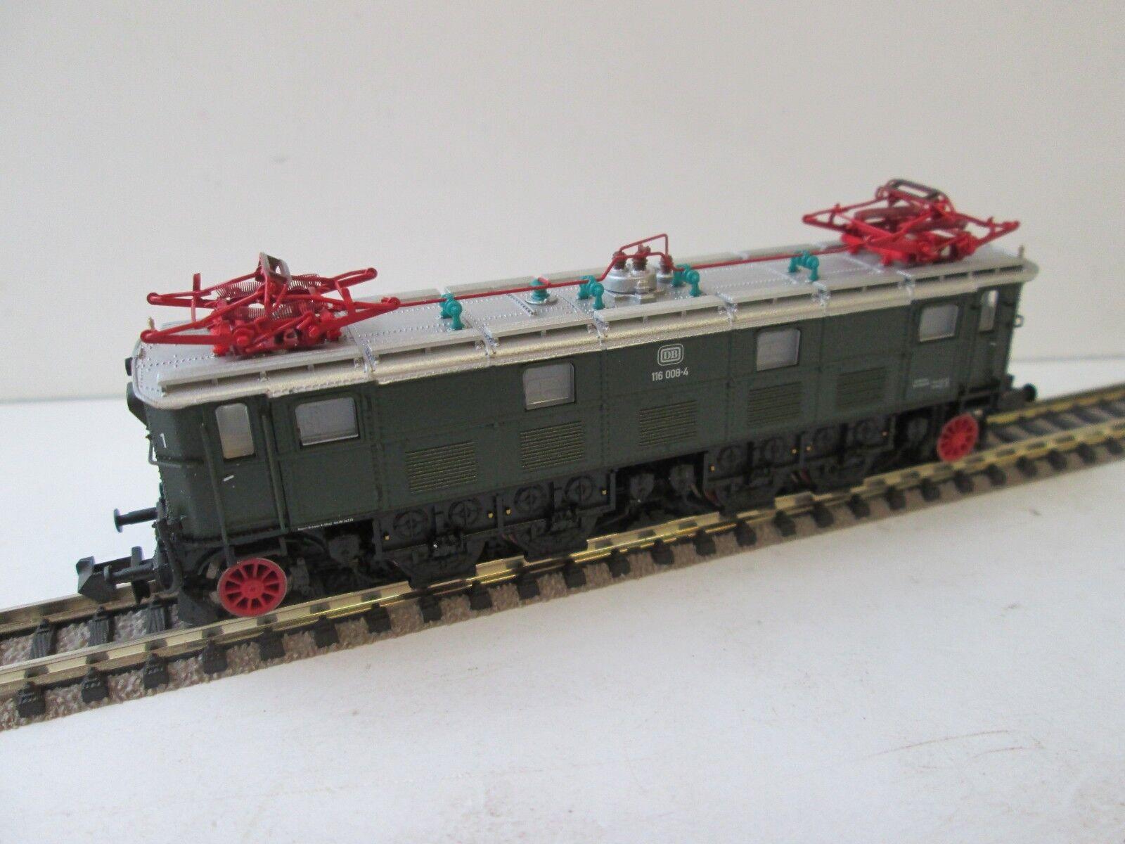 PIKO 40351 E-Lok BR 116 DB, DIGITALE con SOUND Spur N