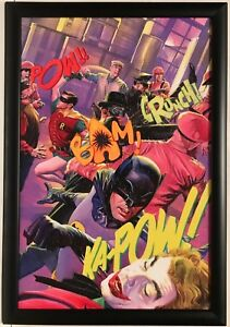 7ca2e4b0 BATMAN ROBIN GREEN HORNET KATO Team Up Framed PRINT Alex Ross Joker ...