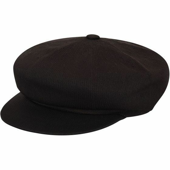 576a31f64 Kangol Mens Tropic Spitfire Cap Black Medium