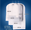 New Clear Coat Dress Garment Clothes Cover Dust Protector Travel Bag with Zip