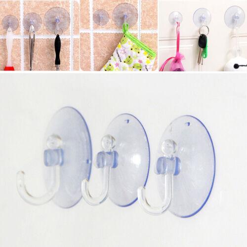Crochets muraux cintres de cuisine salle de bainventouse ventouse transparent Xg