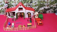Barbie dolls bundle ( with horse stable set )