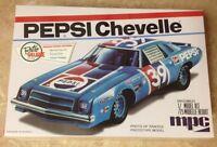 Mpc '75 Pepsi Chevy Chevelle Stock Car 1/25 Plastic Model Car Kit 808