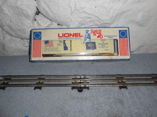 Lionel Spirit of 76 Delaware Box Car Item #6-7601 Boxed