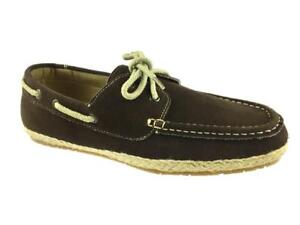 Mens Touch Closure Faux Suede Checked Full Back Slippers Sizes 7-12