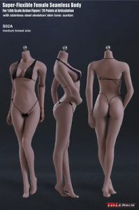 ahorra hasta un 50% Tbleague Tbleague Tbleague Phicen S02A 1 6 flexible sin costuras Hembra medio busto bronceado cuerpo muñeca  saludable