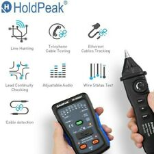 Handheld Network Cable Tester Kit Rj45 Rj11 Telephonephone Wire Finder Tracker