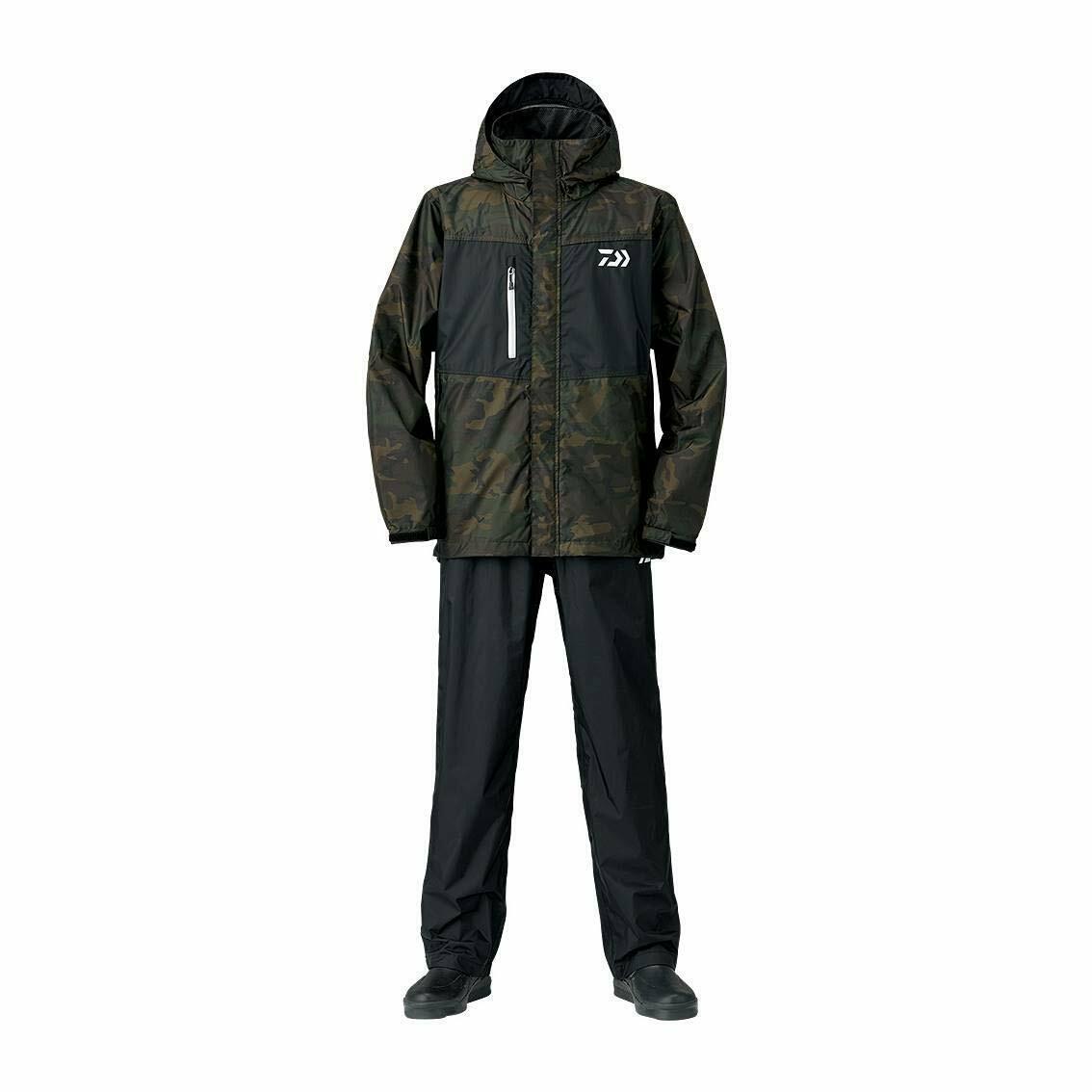 167 173 Grün Camouflage DR 36008 Pants Suit Max Rain