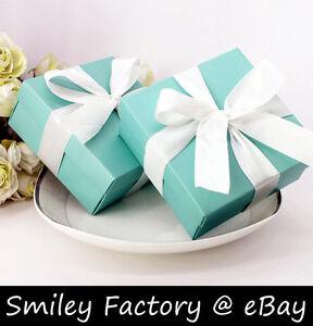 Image Is Loading 2 Sizes 25pcs Cute Tiffany Blue Wedding Favor