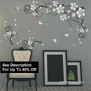 Wall Stickers Tree Flower Nursery Kids Art Decals Butterfly Vinyl DecorP543B - <span itemprop=availableAtOrFrom>Liversedge, United Kingdom</span> - Please note that all our products are Made to Order, due to all our products are personalized and tailored goods to your own taste and specifications and we are therefore unable to acc - Liversedge, United Kingdom
