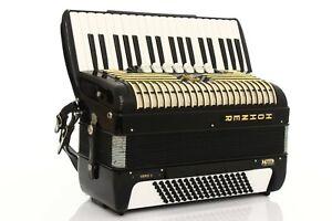 Accordion Hohner Verdi III 120 bass Vintage LMM Akkordeon Fisarmonica +Case