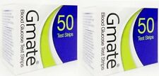 Gmate Voice & Gmate Smart Blood Glucose Test Strip (100) FREE SHIPPING.