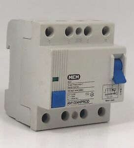 SCHNEIDER ELECTRIC 100 AMP 30mA DOUBLE POLE RCCB RCD 905034 SQOE 100030