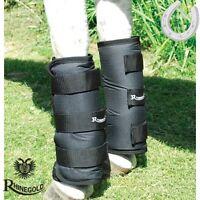 Rhinegold Elite Half Travel Boots – Pony – Black – Show Season – Free P&p