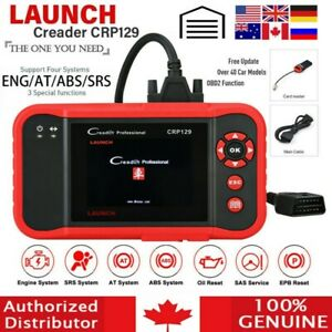LAUNCH X431 CRP129 OBD2 Car Diagnostic Scanner Code Reader ABS SRS EPB Engine CA