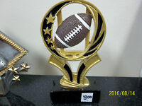 Football Trophy Or Award, About 6 Tall, Engraving Included, Design